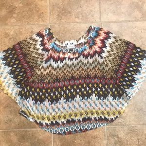 About a Girl Beautiful Butterfly / Dolman / Poncho